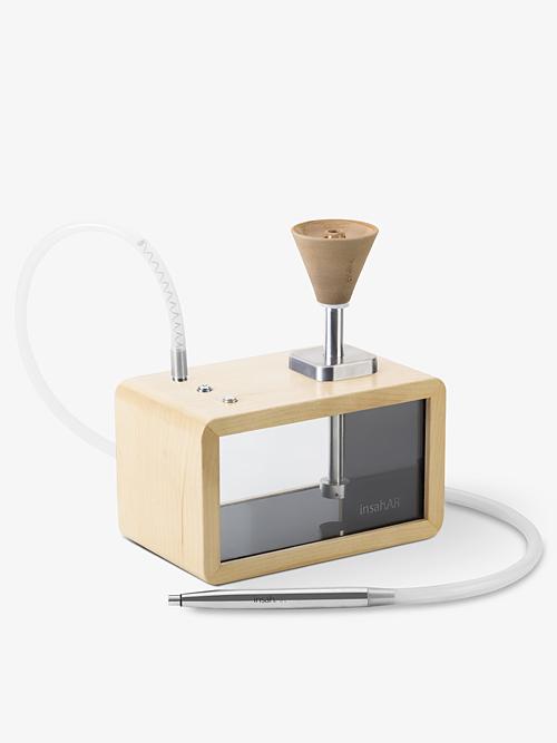 Hookah insahAR 3.0 Radio - Light wood (maple)